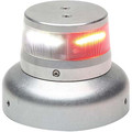 "Whelen ORION 360 Beacon Red /White Split LED Beacon 14 VDC, 3.75"" Base"