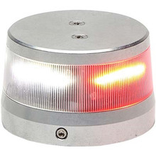 "Whelen ORION 360 Beacon Red/White Split LED Beacon 28 VDC, 2.6"" Base"