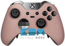 Rose Gold Custom Elite Controller