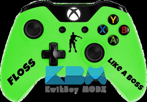 Green Fortnite Xbox One Controller