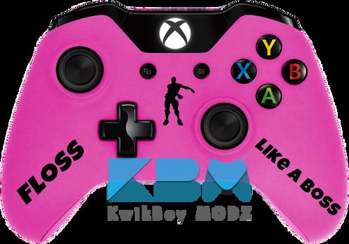 Custom Pink Fortnite Xbox One