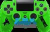 Custom Green Fortnite PS4 Controller