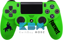 Custom Green Fortnite PS4 Controller