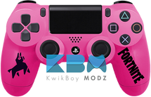 Custom Pink Fortnite PS4 Controller