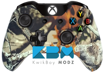 Custom Vista Camouflage Xbox One Controller