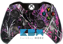 Custom Muddy Girl Camo Xbox One Controller
