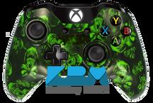 Custom Green Hades Xbox One Controller