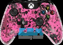 Custom Pink Digital Camo Xbox One Controller