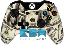 Custom Money Xbox One Controller