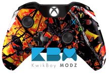 Wildfire Camouflage Xbox One Controller