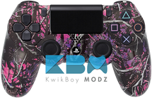 Custom Muddy Girl Camo Ps4 Controller