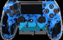 Custom Blue Inferno PS4 Controller