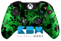 Inferno Xbox One Controller - Green