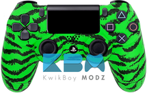 Custom Green Tiger PS4 Controller