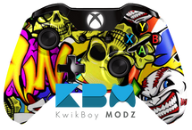 Graffiti Xbox One Controller