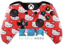Custom Hello Kitty Xbox One Controller