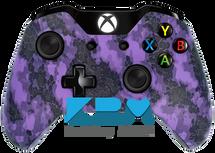Custom Purple Defected Xbox One Controller
