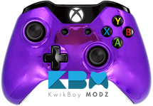 Purple Chrome Custom Xbox One Controller
