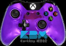 Purple Chrome Custom Xbox One Controller