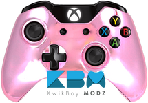 Pink Chrome Custom Xbox One Controller
