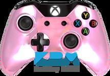 Pink Chrome Custom Xbox One Controller