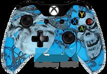 Custom Blue Mr.Creepy Xbox One Controller