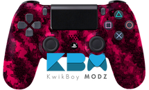 Pink Defected Custom PS4 Controller