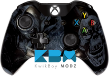 Mr.Creepy Skulls Black Xbox One Controller