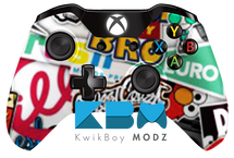 Big Sticker Bomb Xbox One Controller