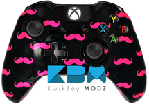 Mustache Ride (Pink) Xbox One Controller