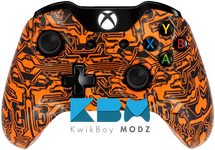 Pack A Punch Orange Xbox One Controller