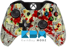 Blood Money New Money Xbox One Controller - KwikBoy Modz