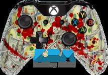 Blood Money New Money Xbox One Controller - KwikBoy Modz