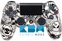 Custom No Fear PS4 Controller