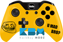 Troll Face Xbox One Controller