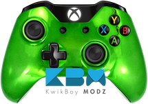 Custom Green Chrome Xbox One Controller