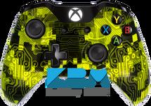 Custom Yellow Camotech Xbox One Controller