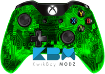 Custom Green Camotech Xbox One Controller