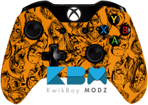 Zombies Orange Xbox One Controller