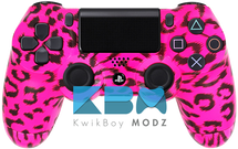 Custom Pink Cheetah PS4 Controller