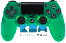 Custom Green Chrome PS4 Controller