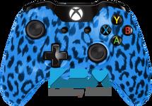 Custom Blue Cheetah Xbox One Controller