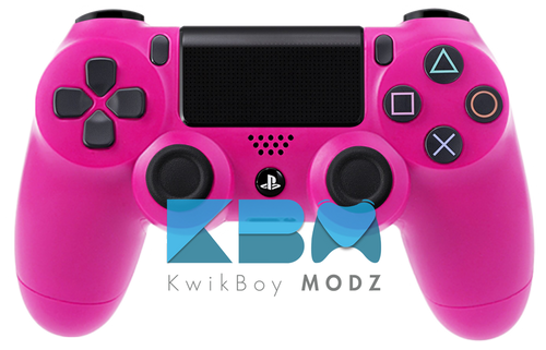 ps4 controller pink