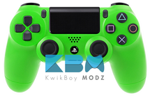 Custom Green PS4 Controller