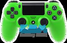 Custom Green PS4 Controller