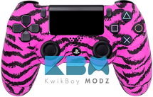 Pink Tiger Custom PS4 Controller