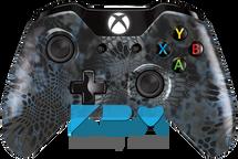 Kryptek Neptune Custom Xbox One Controller