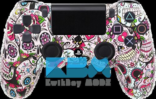 Custom Sugar Skulls PS4 Controller
