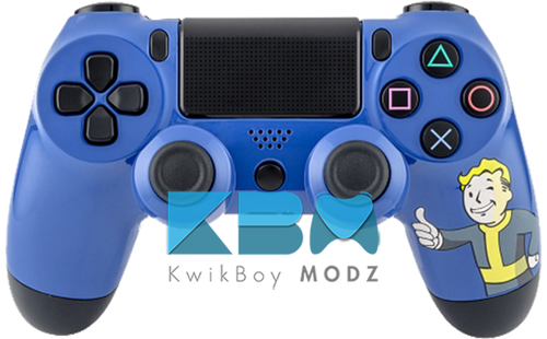 Custom Fallout Vault Boy PS4 Controller