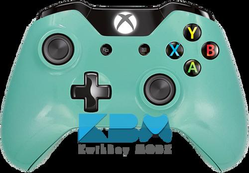 Custom Tiffany Blue Xbox One Controller